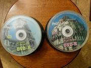 Диски болванки DVD